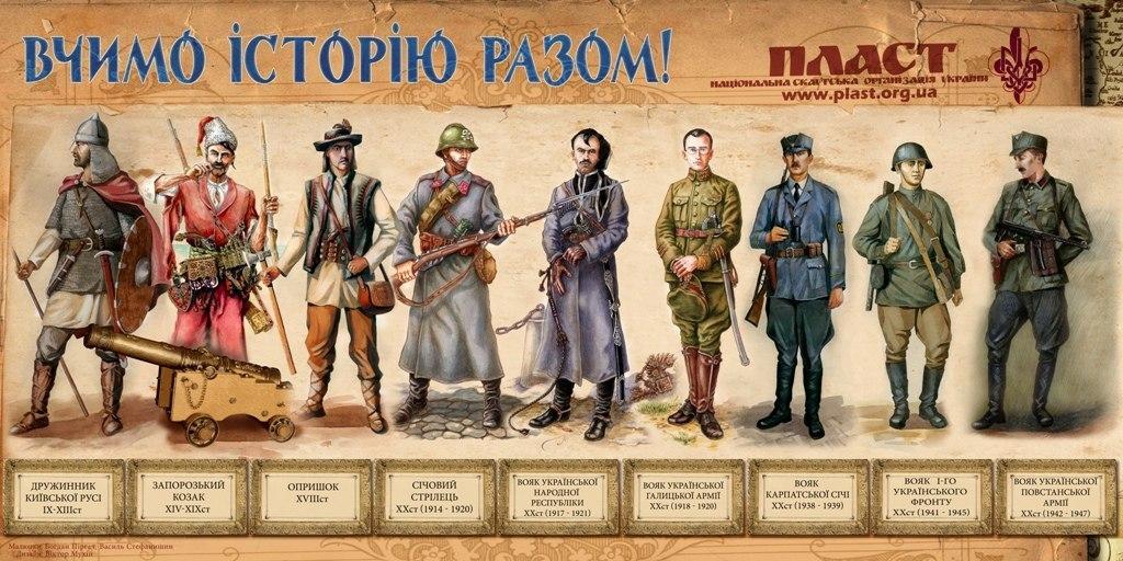 Від козаків до кіборгів. Українські воїни всіх часів. Якими вони ... 17b419fde79d8