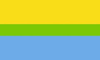 Динамічний сонячно-блакитний прапор на основі Принципу Парето 20/80