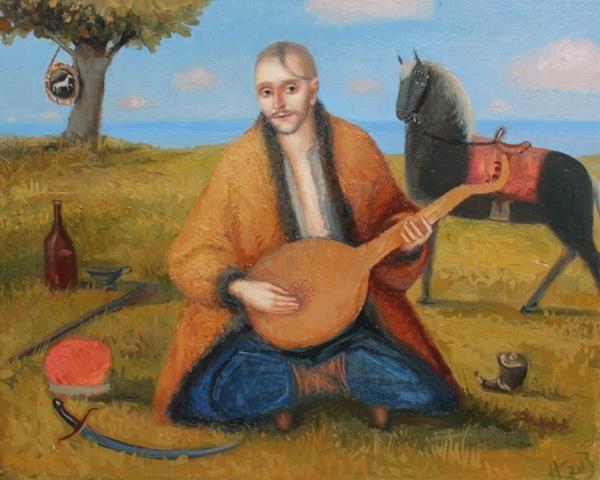 Безсмертний українець. Козак Мамай (художник Катерина Косьяненко, 2013)