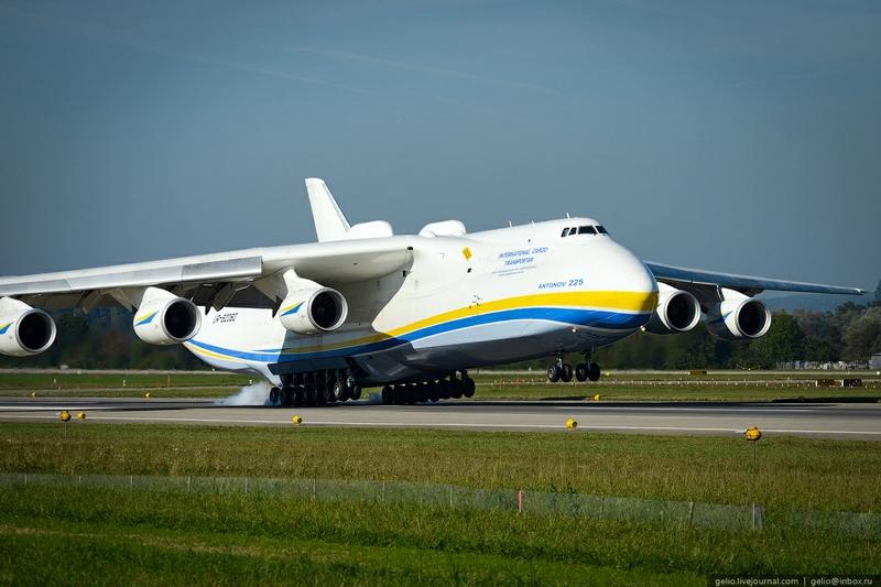 Ан-225 «Мрія» (кодове ім'я НАТО — «Cossack») — найбільший та найпотужніший у світі транспортний літак, створений київським КБ імені Антонова.