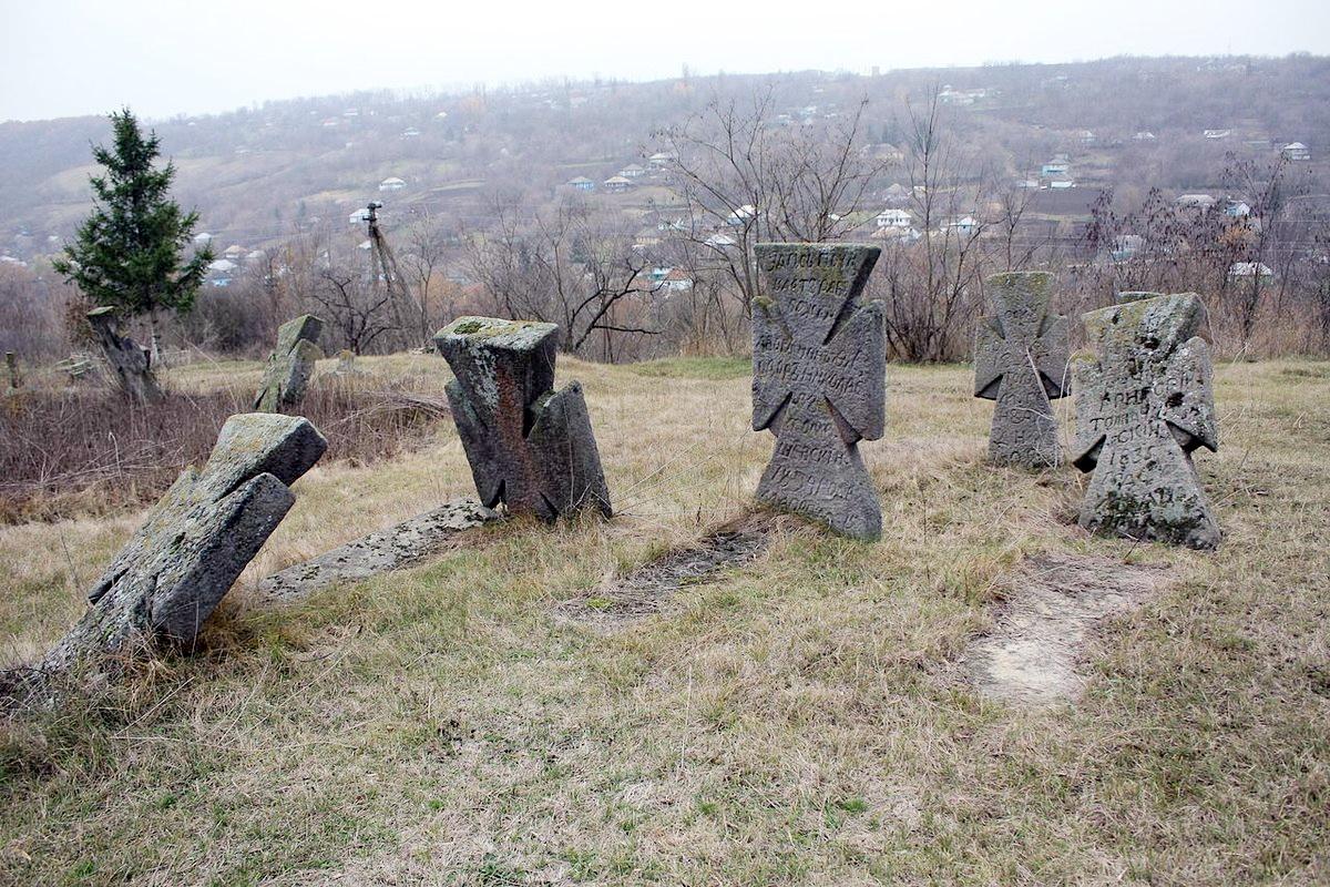 Козацький цвинтар у селі Буша на Вінниччині