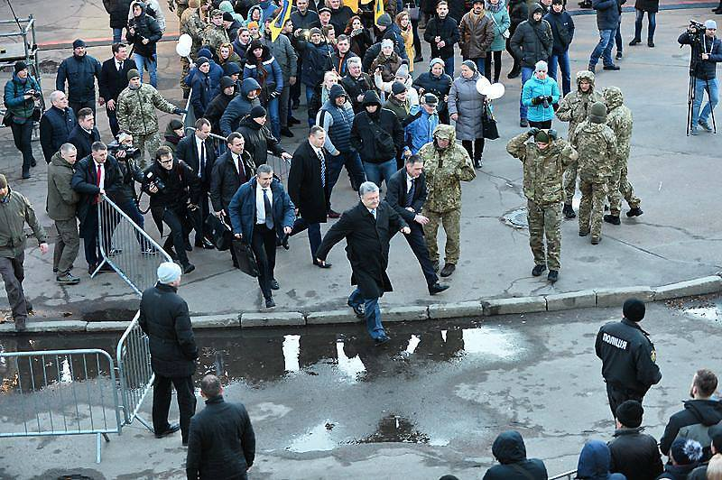 Петро Порошенко в Житомирі 11 березня 2019 року