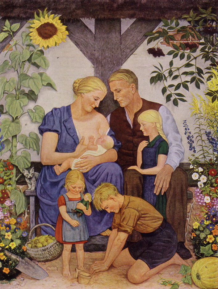 Арійська сім'я (1938–1939). Художник  Вольфганг Вільріх.