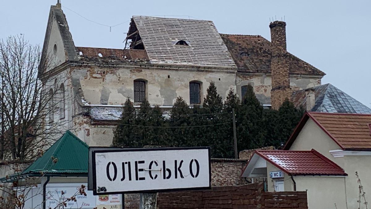 монатсир капуцинів в Олесько