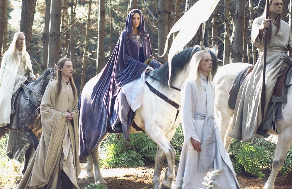 Безсмертні (ельфи) з кінотрилогії Володар Перстенів (The Lord of the Rings film trilogy)  2001-2003