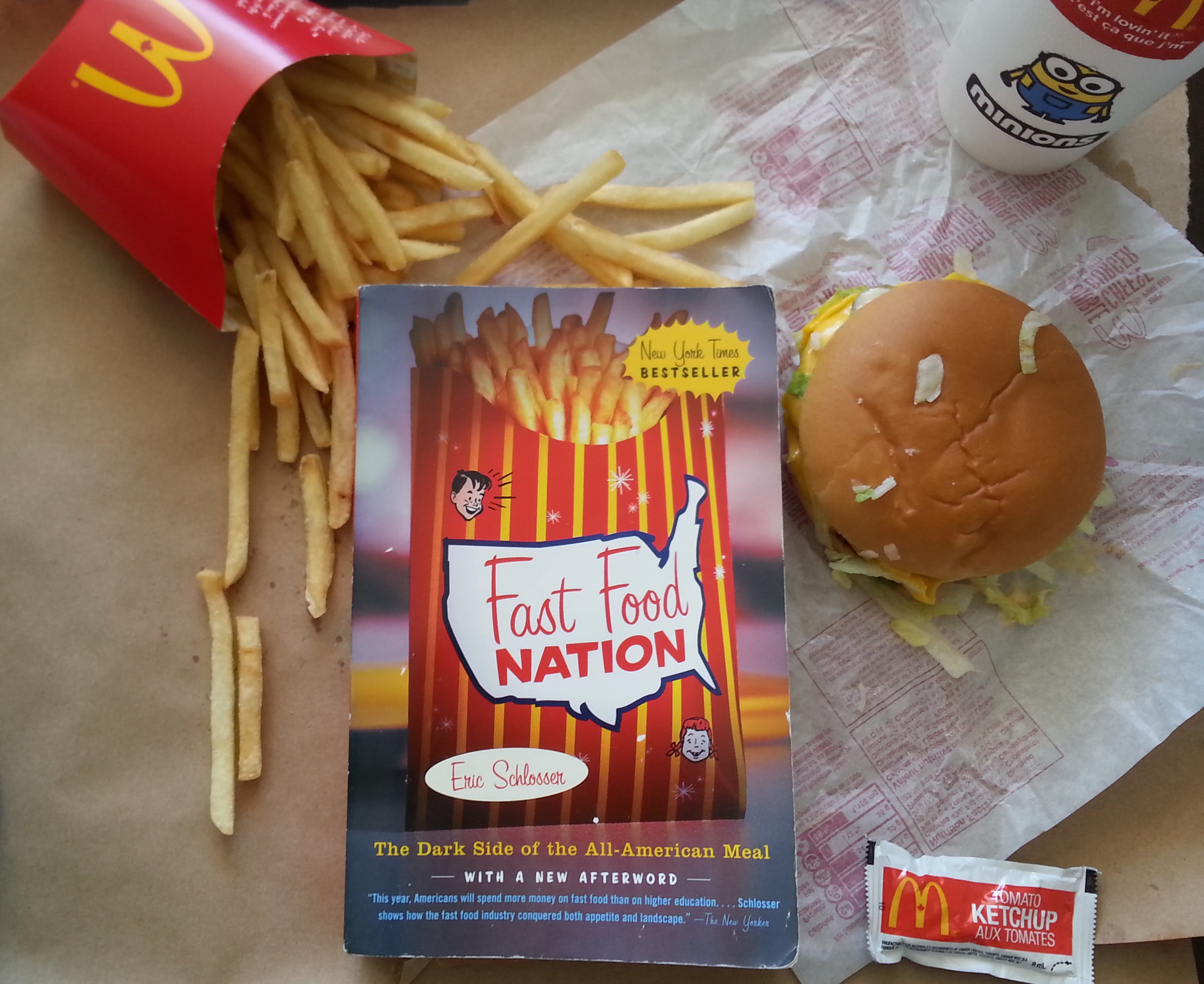 fast food nation by eric schlosser essays Fast food nation essays are academic essays for citation these papers were written primarily by students and provide critical analysis of fast food nation by eric schlosser unhealthy america: critiquing the fast food nation.