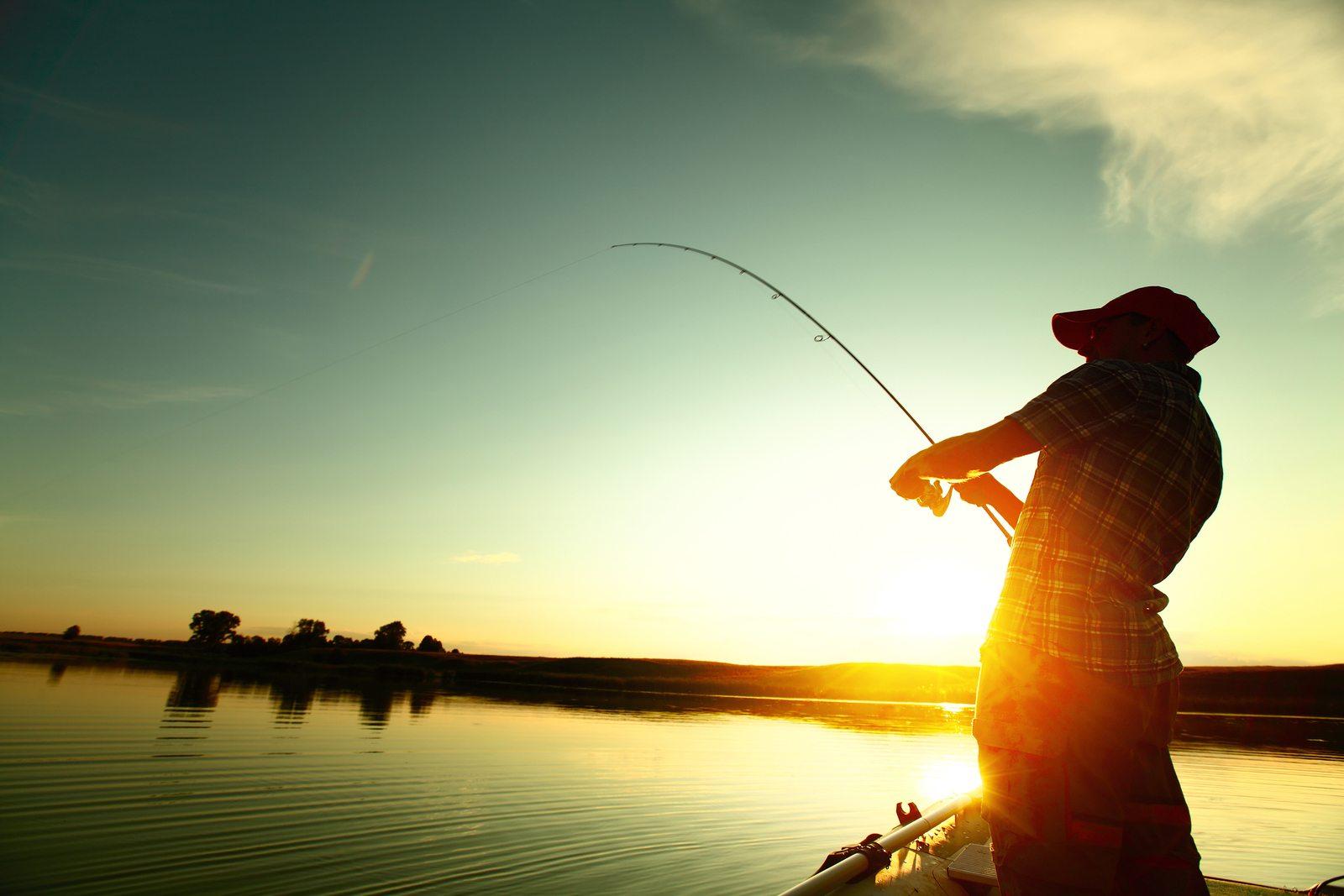 Фото открытки про рыбалку