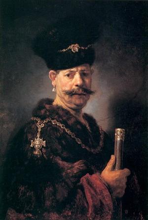 Польський шляхтич. Рембрандт, 1637 р.
