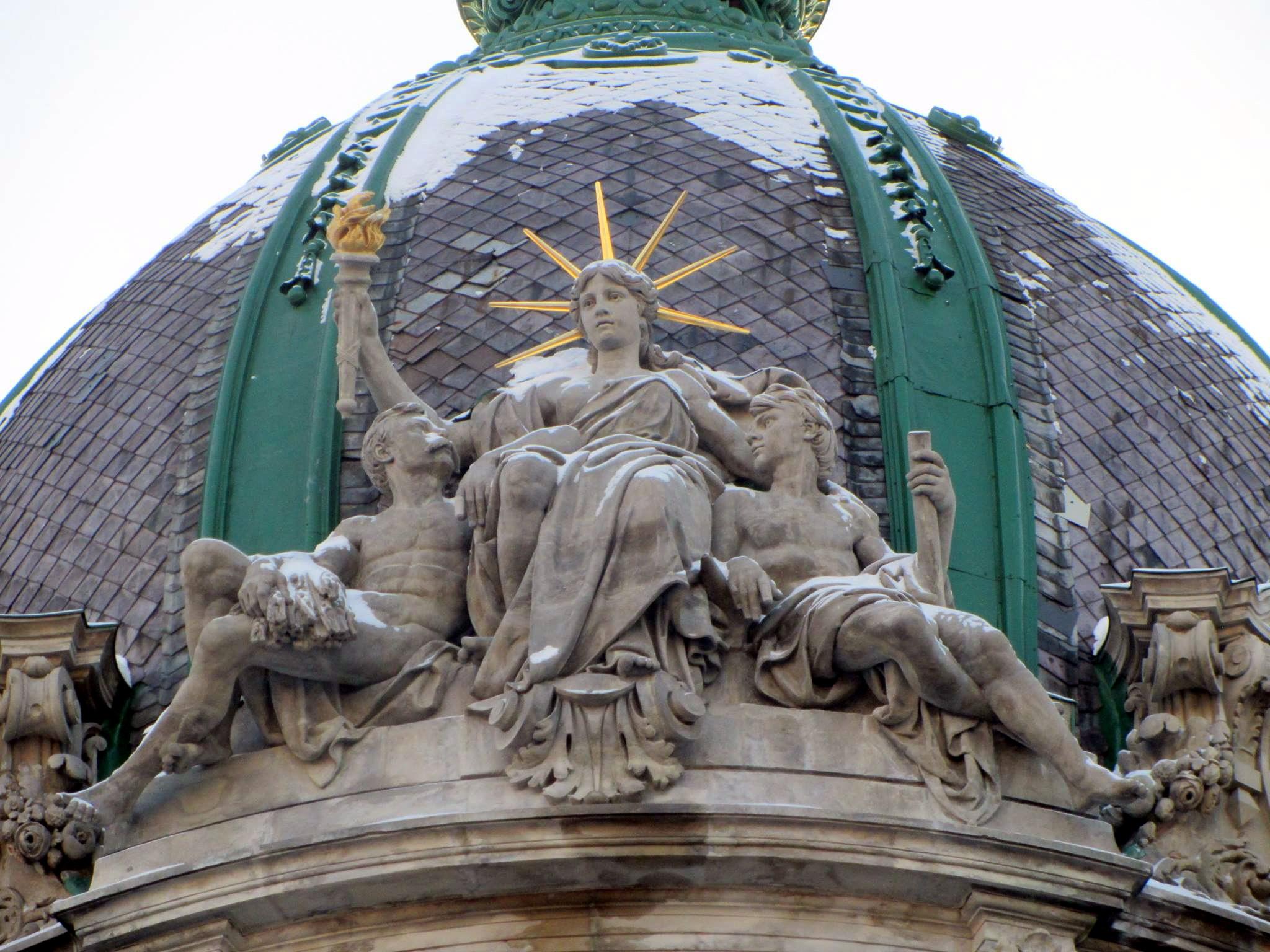 Статуя Свободи у Львові