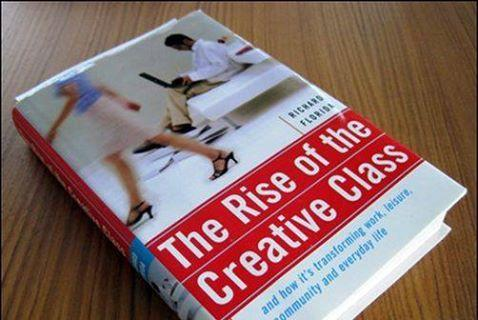 "Richard Florida ""The Rise of the Creative Class and how it's transforming work, leisure, community and everyday life"". — Basic Books, 2002, 404 pages, ISBN 0-465-02476-9"